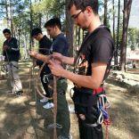 Revising rope knots