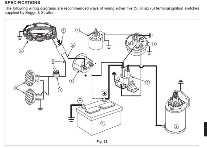 5 post ignition wiring diagram mtd solenoid  rj11 wall