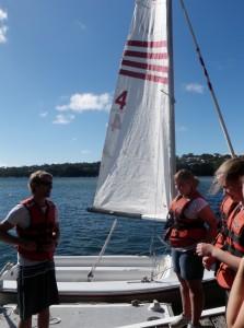 Sam - sailing in Sydney