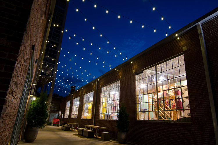 led string lights commercial patio