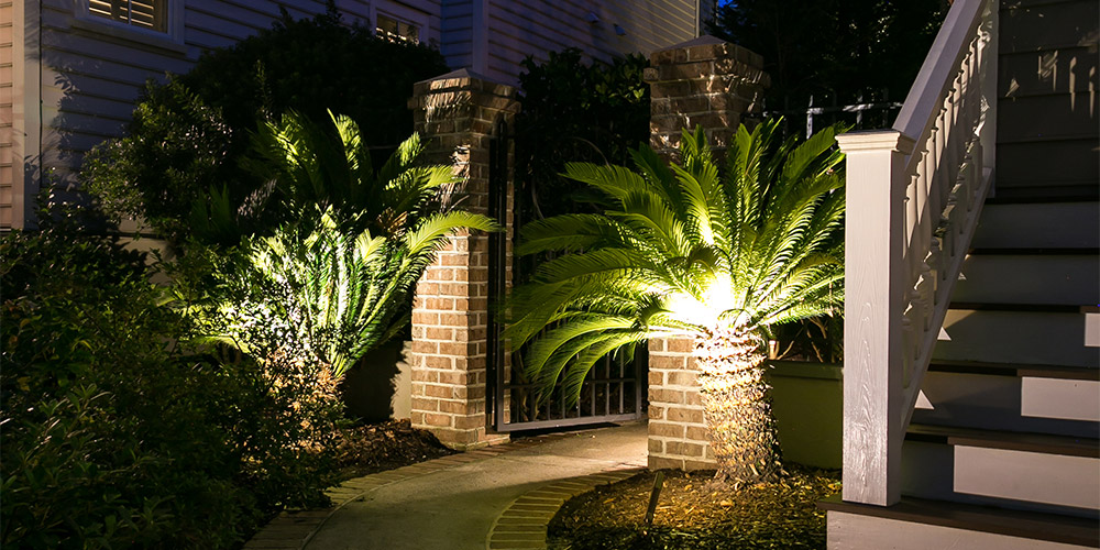 led outdoor lighting in north