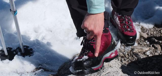 Berry me up - treue Bergstiefel für Schnee und Alpintouren von LOWA