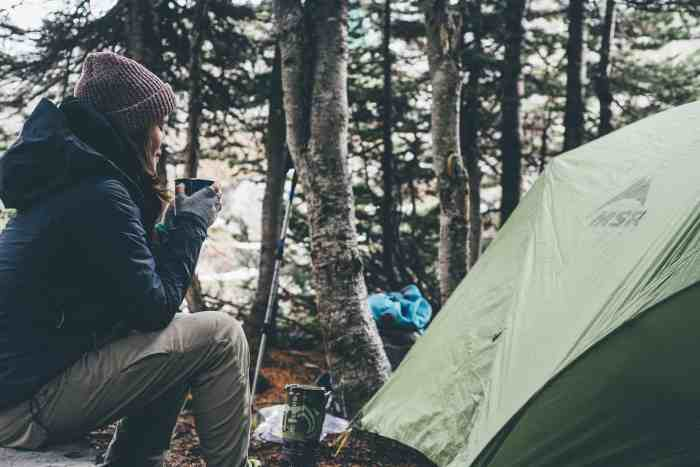 Campingtoaster - Camping mit Kaffee