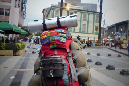 Backpackerrucksack