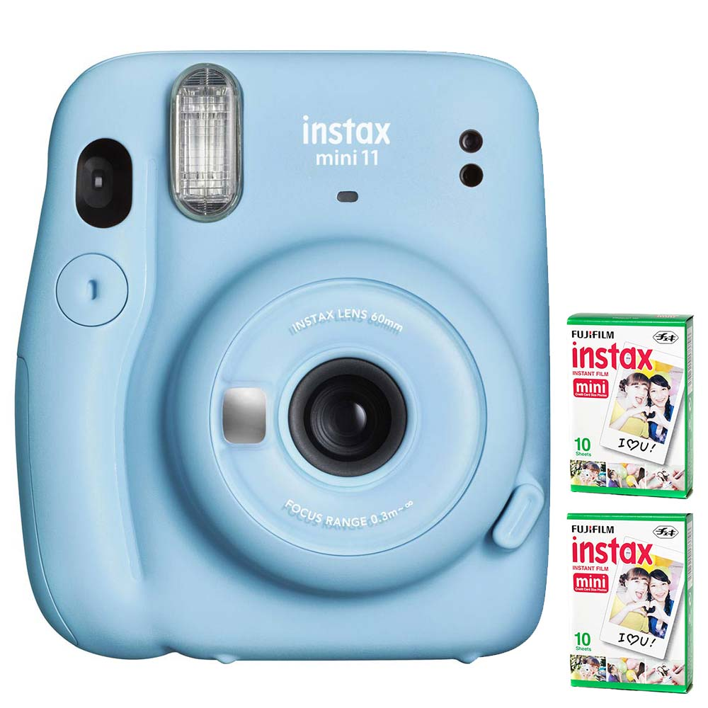 Fujifilm Instax Mini 11 Camera Blue 16655209 Outdoorphoto 1 Film
