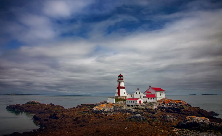 Travel planning needed to reach East Quoddy Lighthouse  (sometimes called Head Harbor Lighthouse)
