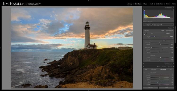 Photoshop HDR photo - after a basic Lightroom edit