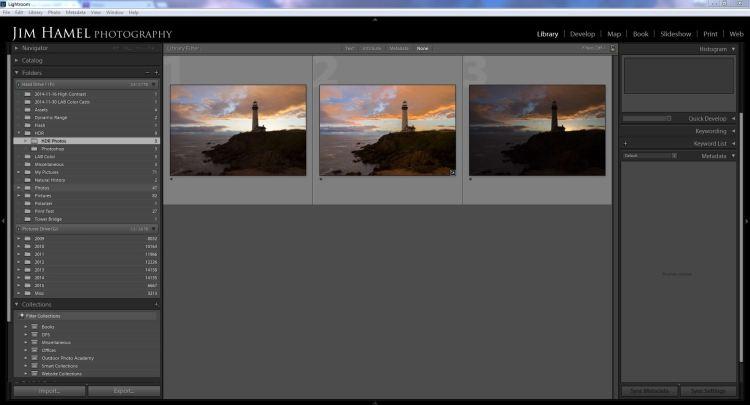 Lightroom HDR - Original Photos