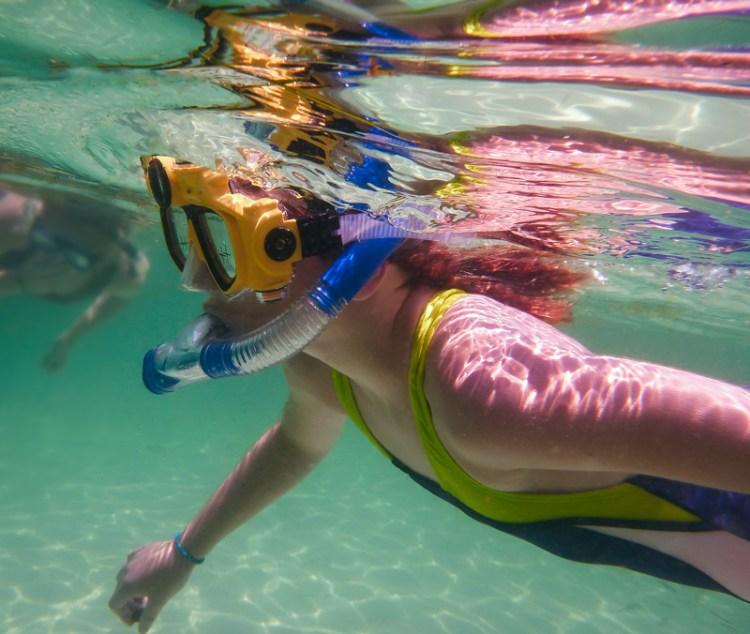Underwater camera photo