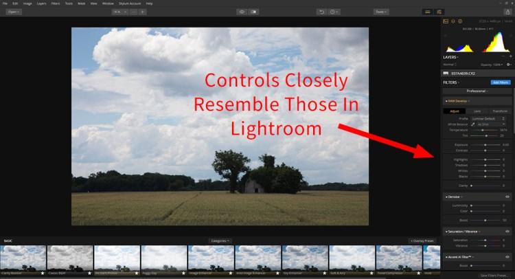 Luminar Workspace Graphic