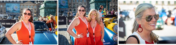 """My wife and daughter at the Rallye Des Princesses in Paris - the sort of event you might want to """"run and gun"""" with a flash."""