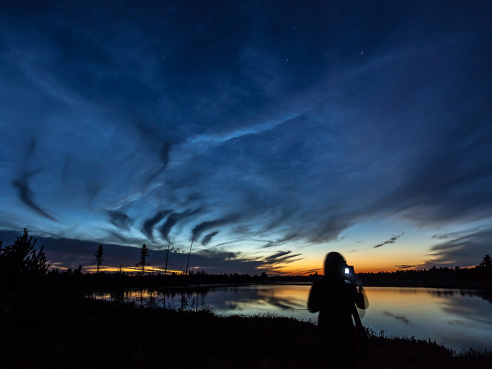 star photography, Torrance Barrens, night, Ontario, Canada, Canadian Photography Workshops