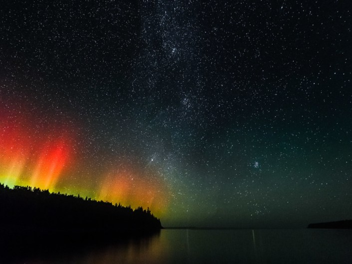 Tobermory Northern Lights, Georgian Bay, Bruce Peninsula NP