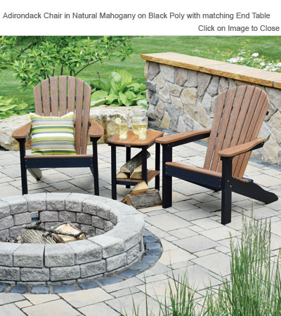 Outdoor Poly Furniture Amish PATC2400 Comfo Back