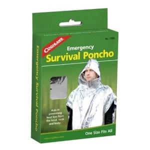 Coghlan's Emergency Survival Poncho