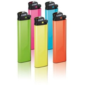 Cricket Disposable Lighter various colour