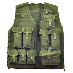 ODP 0177 Military Vest green
