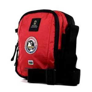 National Geographic Explorer Shoulder Bag red