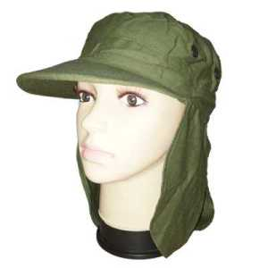 ODP 0316 Sun Protection Flap Cap green