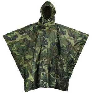 ODP 0370 3-in-1 Poncho Camouflage