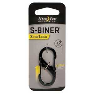 Nite Ize S-Biner Slidelock #2 black