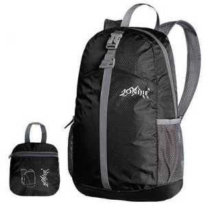 Aonijie 20L Foldable Backpack black