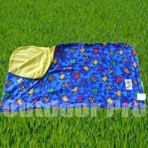Bazoongi Slumber Bag 67 x 30 froggy fun royal