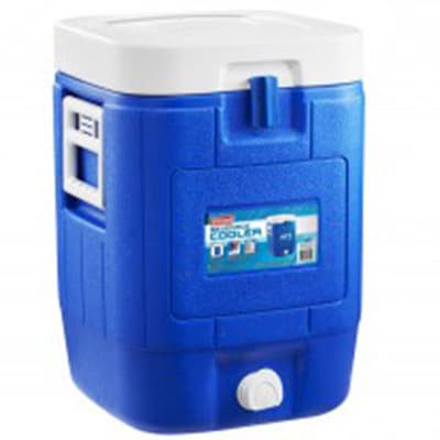 Coleman 5 Gallon 19L Square Beverage Cooler blue