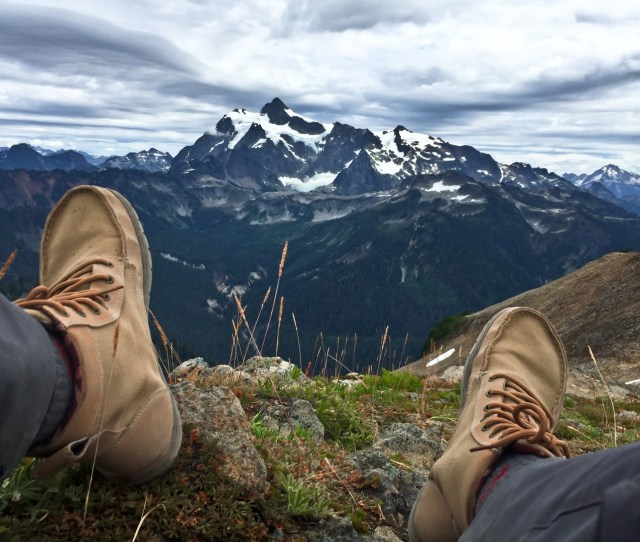 Hiking With A Minimalist Shoe Mount Shuksan Hiking With A Minimalist Shoe