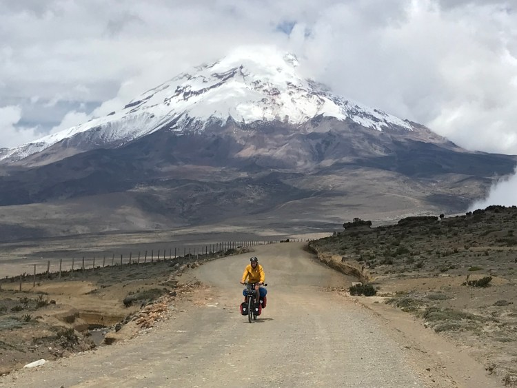 Cycling the TEMBR chimborazo