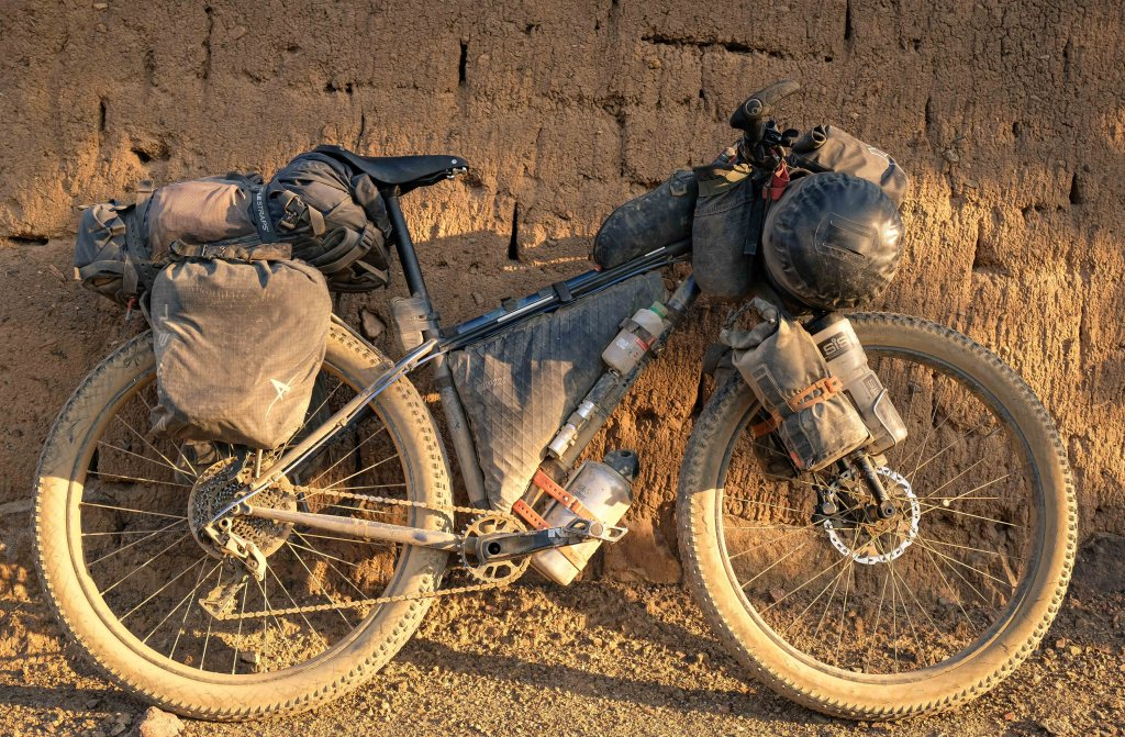 bicycle touring or bikepacking