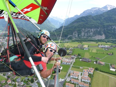 Hanggliding Interlaken