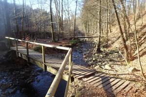 Brücke über die Statte
