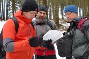 Outdoor-Blogger auf dem Hubertusweg im Sauerland