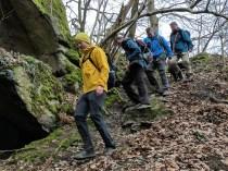 Abstieg vom Stenzelberg