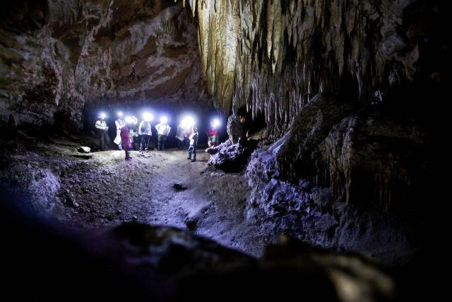 Florena Men Abenteuer Natur Comarnic-Höhle