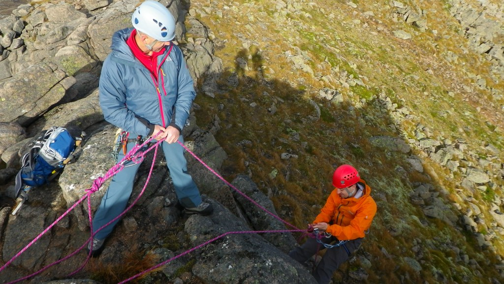 Climbing in the Cairngorms