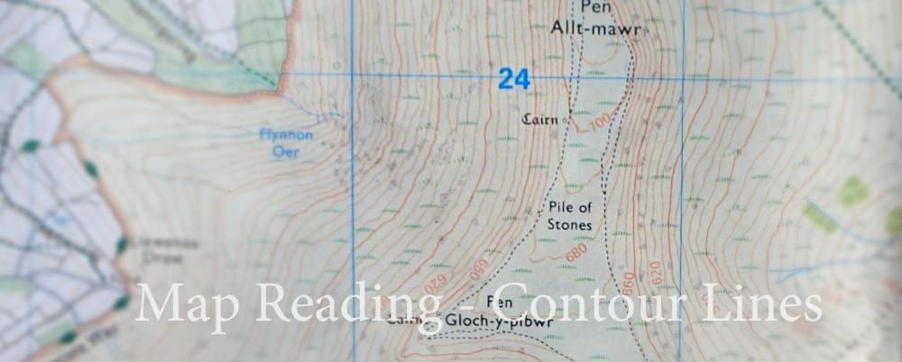 Map Reading - Contour Lines