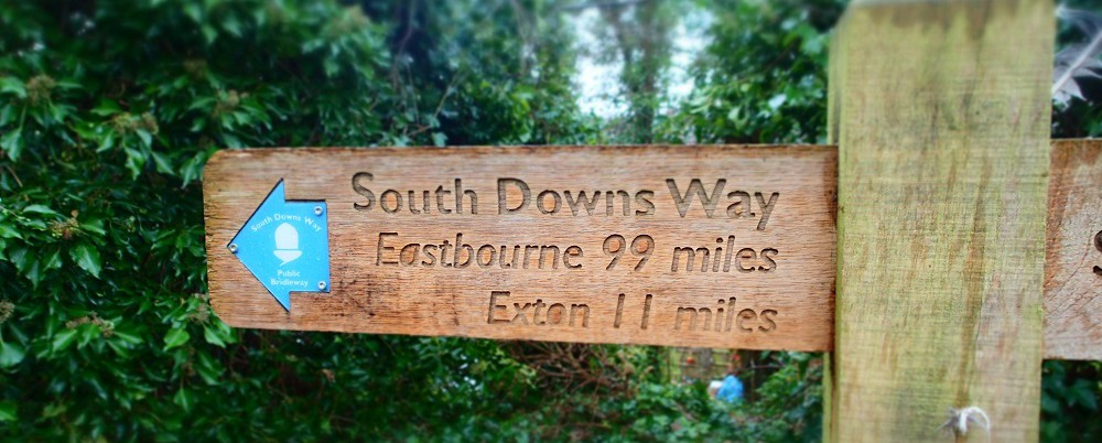 South Downs Way – not a 100 miles