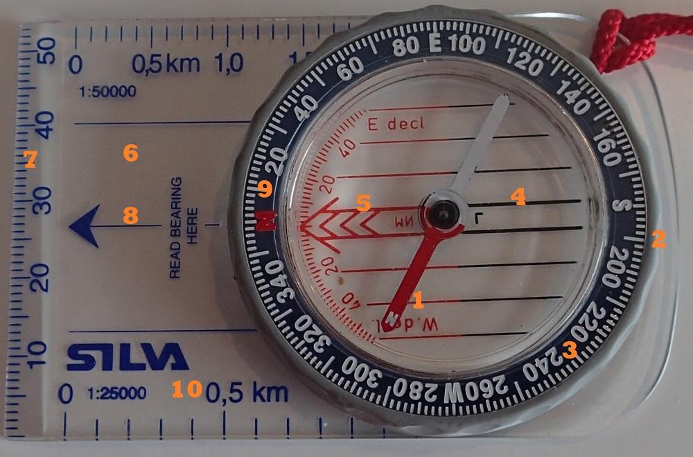 Navigation compass - Silva Field 7