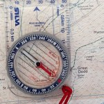 Get an azimuth from the object and rely it on the map