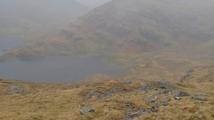 Sourlies bothy - so close, but so far, with a few hundred meters of descent with already sore knees
