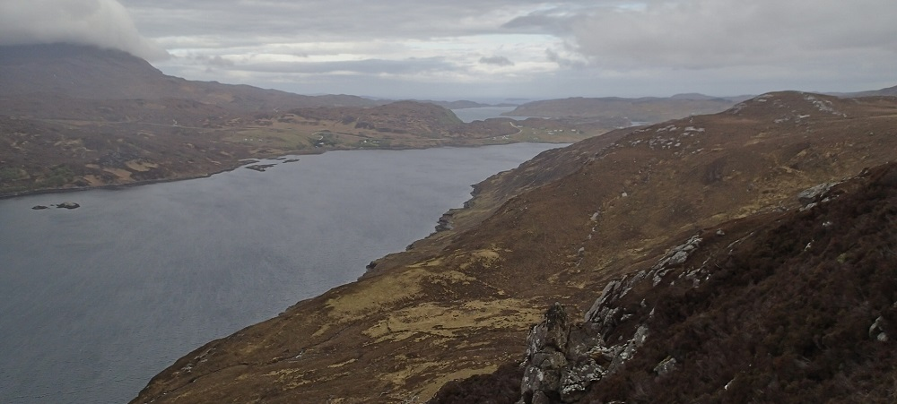 Loch Glencoul from the Cape Warth Trail
