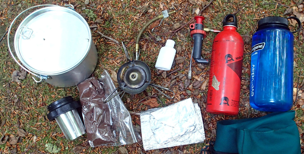 Expedition coffee making kit