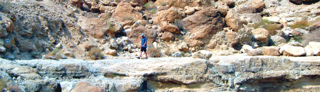 A quite walk in the Negev, Israel