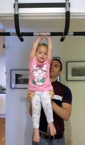 Pull ups should be done throughout the day, by the next generation too