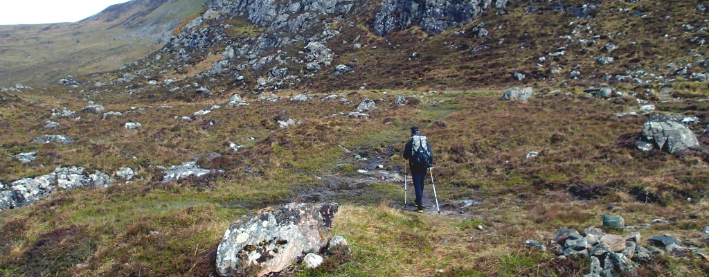 Solo backpacking at its best - in the backcountry