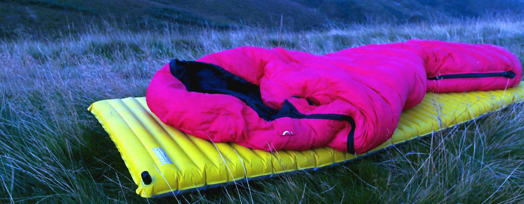The perfect sleeping system - Thermarest Neoair and PHD Minim 400