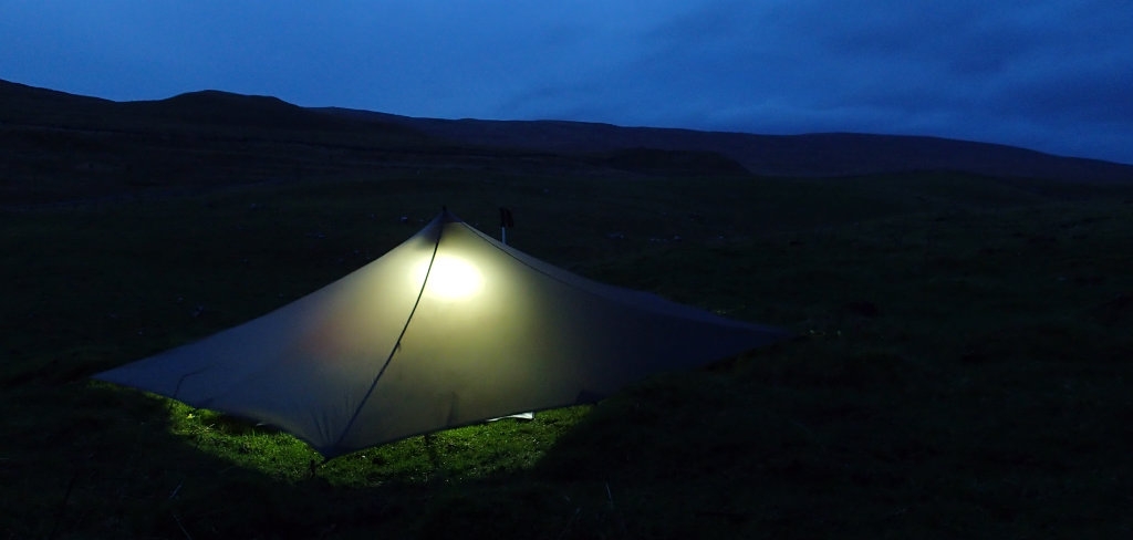 Night camp near Water Houses