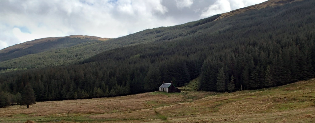 A'Chuil bothy, one of the best parts of the Cape Wrath trail